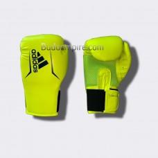Боксерские перчатки Adidas SPEED 75 (салатовый/синий, ADISBG75)