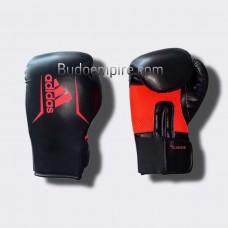 Боксерские перчатки Adidas SPEED 75 (черный/красный, ADISBG75)