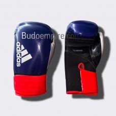 Боксерские перчатки Adidas Hybrid 65 (синий/красный ADIH65)