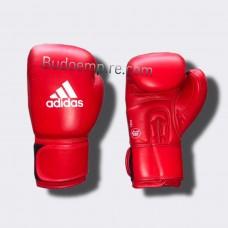 Боксерские перчатки Adidas с лицензией AIBA (красные, AIBAG1)