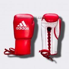 Боксерские перчатки Adidas Glory (красно-белые, ADIBC06)