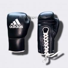 Боксерские перчатки Adidas Pro (черные, ADIBC09)
