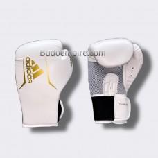 Боксерские перчатки Adidas SPEED 75 (белый/золотой, ADISBG75)
