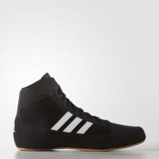 Детская обувь для борьбы (борцовки) Adidas Havoc Kids (черная, AQ3327)
