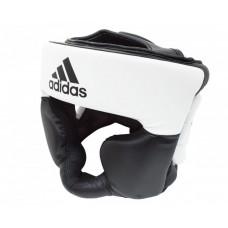 Шлем боксерский тренировочный Adidas Response (бело-черный, ADIBHG024)