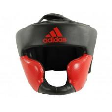 Шлем боксерский тренировочный Adidas Response Standart (черно-красный, ADIBHG023)