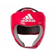 Шлем боксерский Adidas с лицензией Aiba (красный, AIBAH1)
