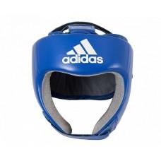 Шлем боксерский Adidas с лицензией Aiba (синий, AIBAH1)
