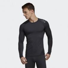 Компрессионный лонгслив Adidas Alphaskin Sport (черный, CF7267)