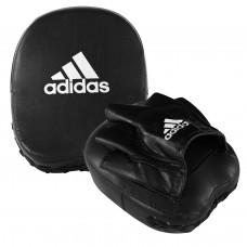Лапа Adidas Short Focus Mitt (черно/белый, ADIMP02)