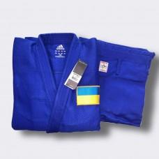 Кимоно Adidas Champion II Olympic IJF (синий, JIJFSMUOG\BU)
