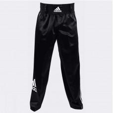 Брюки для кикбоксинга Adidas Pants Kickboxing Full Contact (черные, adiPFC03)