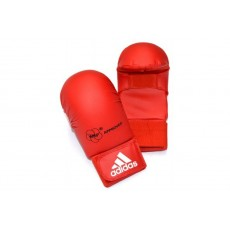 Перчатки для карате Adidas WKF (красный, 661.22)