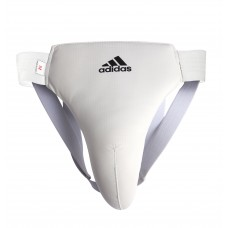 Мужская защита паха Adidas (белый, ADIBP05)
