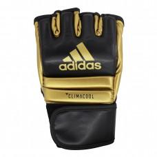 Перчатки Adidas Speed Fight для ММА (черно/золотые, ADISCSG042)