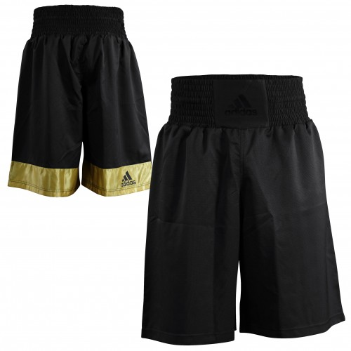 Боксерские шорты Adidas Diamond Flex Satin (черный, ADISMB02)