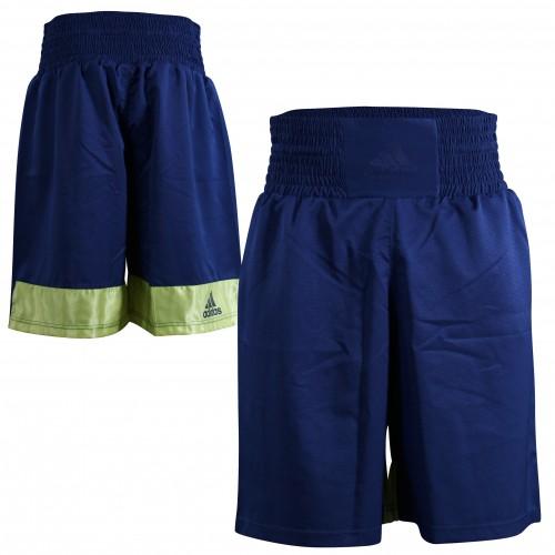 Боксерские шорты Adidas Diamond Flex Satin (синий, ADISMB03)