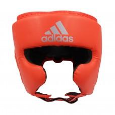 Шлем боксерский Adidas Speed Super Pro Training (ярко красный/серебро, ADISBHG042)