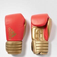 """Боксерские перчатки Adidas """"Hybrid 200"""" (красный/золотой, ADIH200)"""