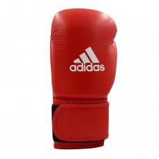 Кожаные боксерские перчатки Adidas WAKO (красный, ADIWAKOG1)