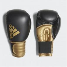 """Боксерские перчатки Adidas """"Hybrid 100"""" (черный/золотой, ADIH100)"""