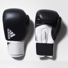 "Боксерские перчатки Adidas ""Hybrid 100"" (черно/белый, ADIH100)"