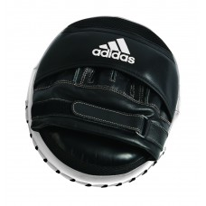Лапа Adidas Ultimate Classic Air Mitts Vacuum Pad (черно/белые, ADIBAC0112)
