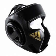 Шлем боксерский тренировочный Adidas (черный, ADIBHGH01)
