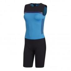 Женское трико для тяжелой атлетики Adidas Crazypower suit (синий, CW5659)