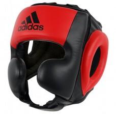 Шлем тренировочный Adidas Sparring (красно-черный, ADIBHG052)