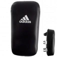 Макивара Adidas Thai Pad Extra Thick Semi Leather (черная, adiBAC042)