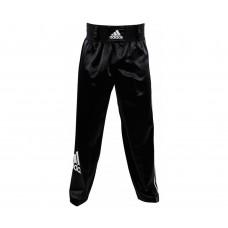 Брюки для кикбоксинга Adidas Pants Kickboxing Full Contact черные adiPFC03