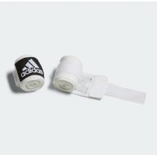 Боксерские бинты Adidas (белые, ADIBP031-WHITE)