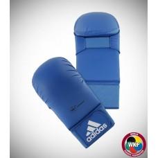 Перчатки для карате Adidas WKF (синий, 661.22)