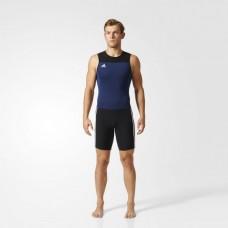 Костюм для тяжелой атлетики Adidas Weightlifting Climalite (синий, Z11185)