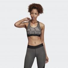 Женский топ Adidas Don't Rest Alphaskin (серый, DX7574)
