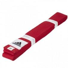 Пояс для кимоно Adidas Club (красный,ADIB220)