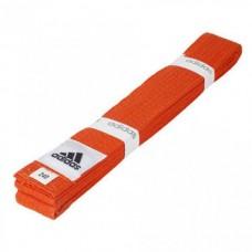 Пояс для кимоно Adidas Club (оранжевый, ADIB220)