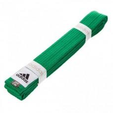 Пояс для кимоно Adidas Club (зеленый, ADIB220)