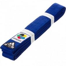 Пояс для карате Adidas серии ELITE WKF (синий, ADIB240WKF)