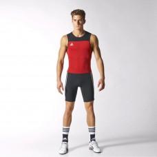 Костюм для тяжелой атлетики Adidas Weightlifting Climalite (красный, Z11184)