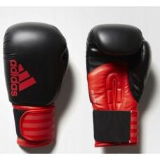 """Боксерские перчатки Adidas """"Hybrid 100"""" (черный/красный, ADIH100)"""