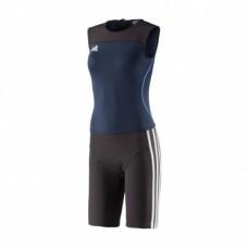Женское трико для тяжелой атлетики Weightlifting Clima Lite Suit Women. | Цвет синий