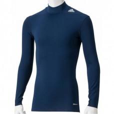 Компрессионная футболка с длинным рукавом Adidas TechFit Base  | Цвет  синий