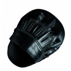 "Лапа боксерская  скоростная   Adidas  10 ""Leather"" Slim & Curved ""    Цвет  черный"