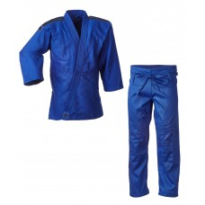 Кимоно Adidas серии ''Club'' (синий/чёрные полосы, J350B)