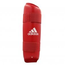 Защита голени Adidas с лицензией WKF (красный, 661.25)