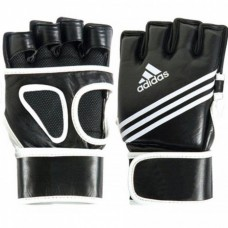 Перчатки Adidas для ММА Super Grappling Mesh (черные с белым, ADICSG09)