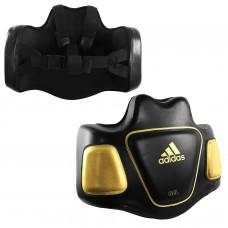Тренерский жилет Adidas Super Body Protector (черно/золото, ADISBP01gold)