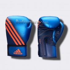 """Боксерские перчатки Adidas """"Speed 200"""" (синий, ADISBG200)"""